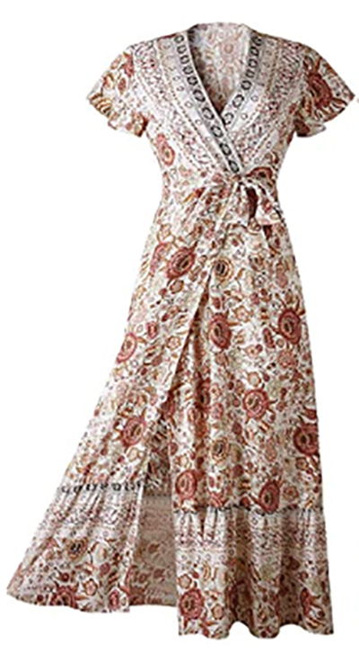 PrettyGarden wrap dress