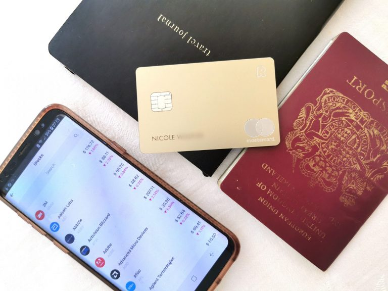 Revolut Metal card and banking app